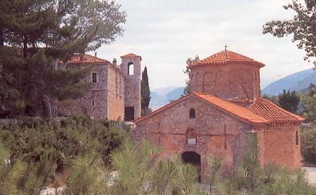 The historic monastery of Agia Lavra