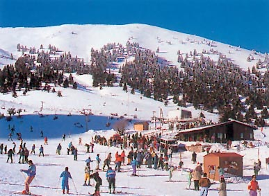 To Ski Center Helmos