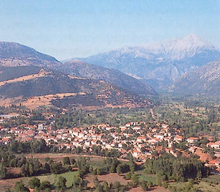General view of Kleitoria