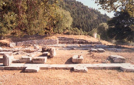 The area of excavations in ancient Loussi